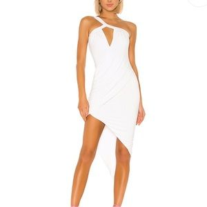 Revolve h:ours Calixto Dress in White